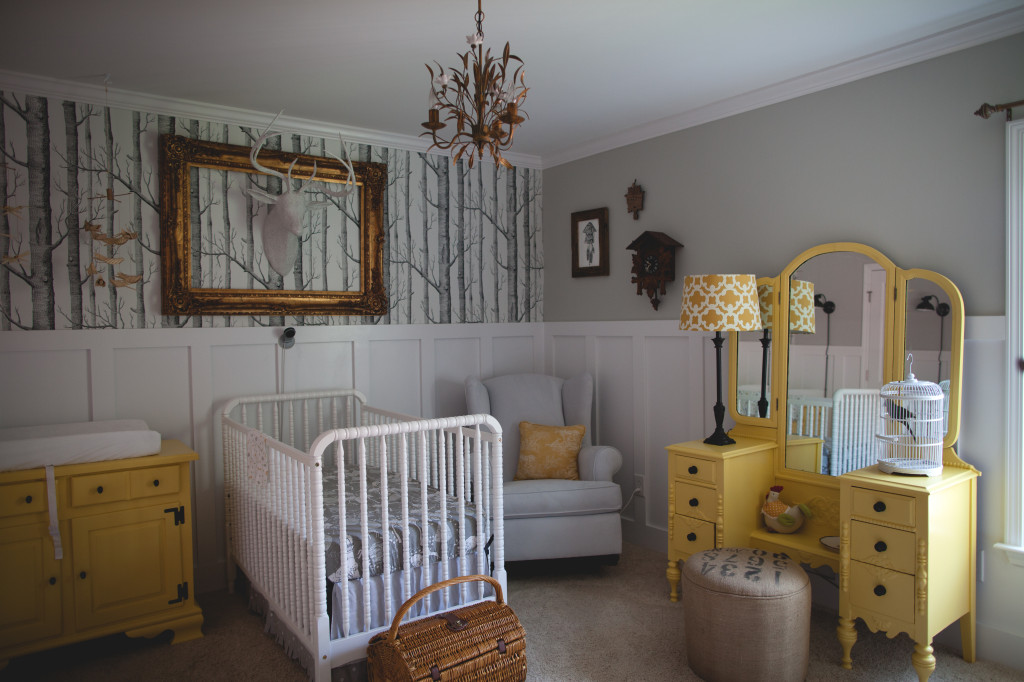 50 Woodland Nursery Wallpaper On