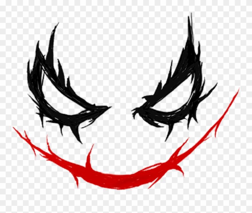 Png Download Joker Smile Png Images Background   Joker Smile 880x745