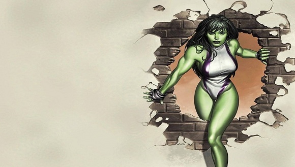 She Hulk PS Vita Wallpaper 580x329