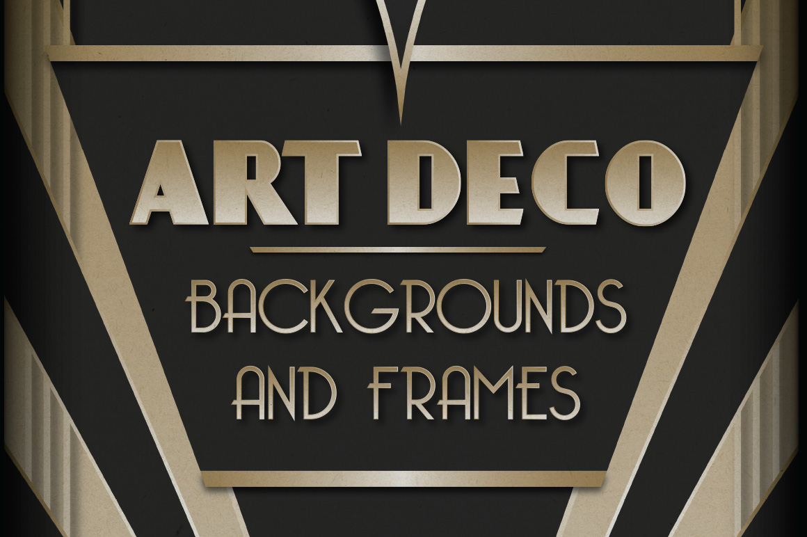 with this collection of 6 art deco inspired backgrounds and frames 1160x772