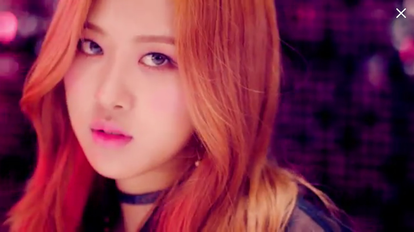 Rose Boombayah MV BLACKPINK IN YOUR AREA Pinterest 1334x750