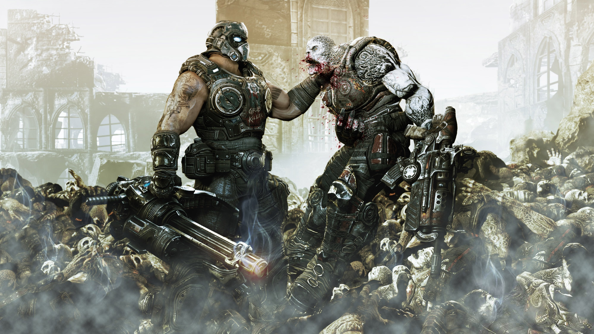 Description Gears of War 3 Wallpapers is a hi res Wallpaper for 2000x1125