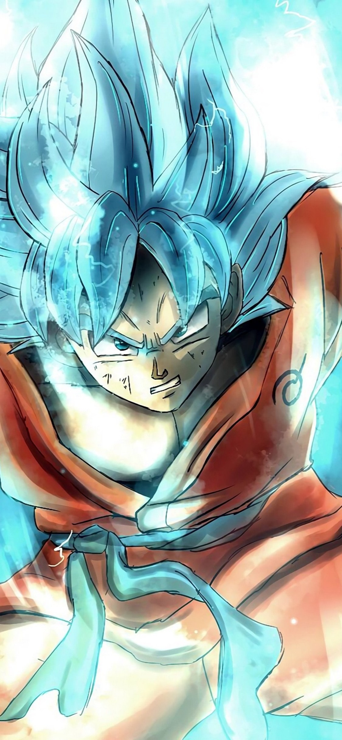 77 Goku Iphone Wallpapers on WallpaperPlay 1125x2436