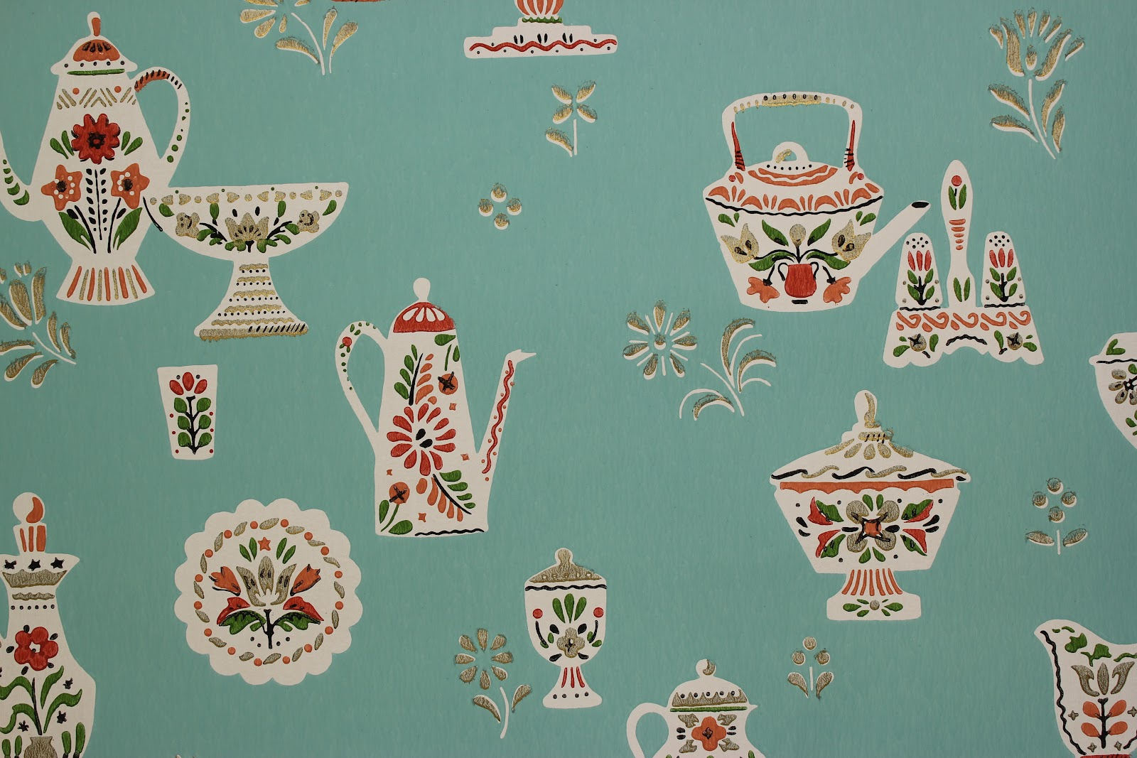 Rosies Vintage Wallpaper History of Kitchen Wallpaper 1600x1067