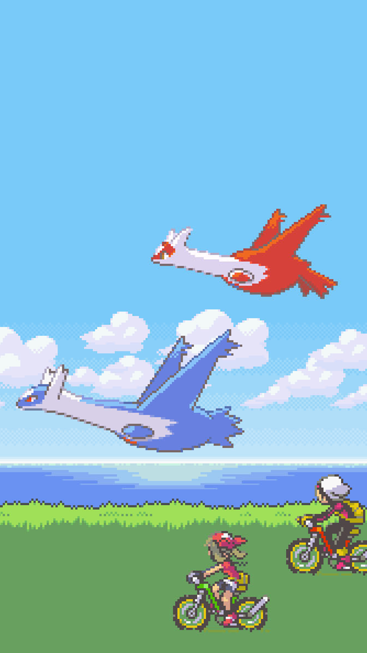 Anyone know if theres a live wallpaper with latios and latias 750x1334