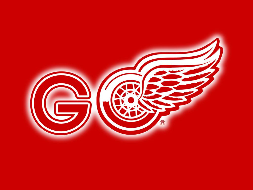 Detroit Red Wings Logo Wallpaper by tonysteeleebw 1024x768