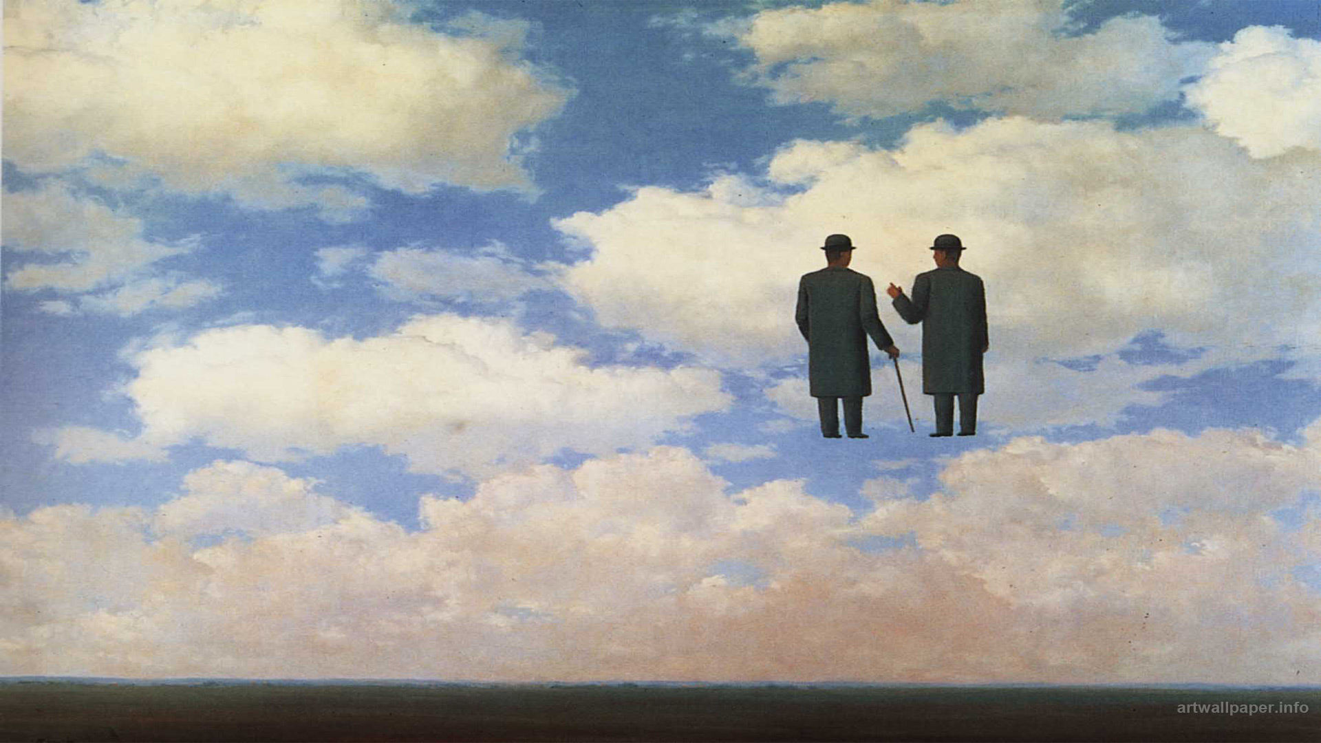 Rene Magritte Wallpaper Art Print Painting Wallpapers 1920x1080