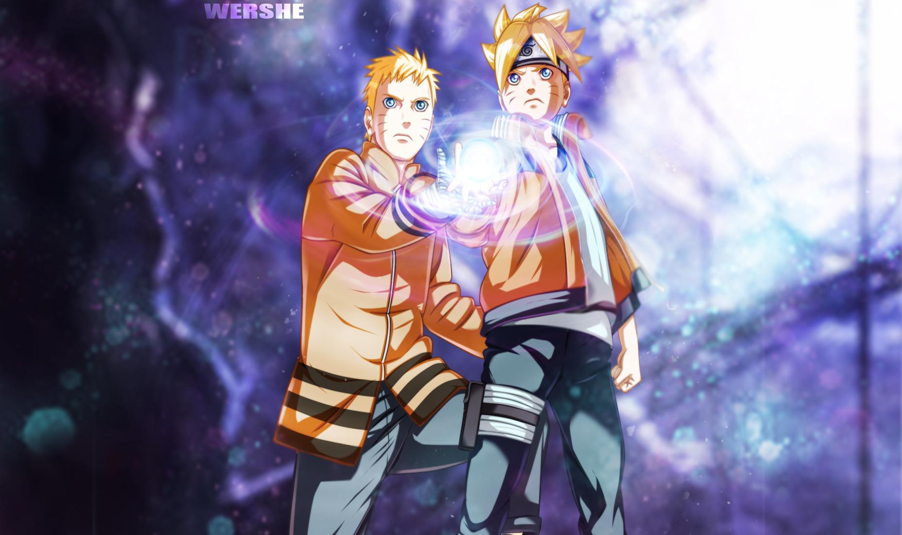 Naruto The Movie Naruto Naruto Uzumaki Boruto Uzumaki Wallpaper 1856x1100