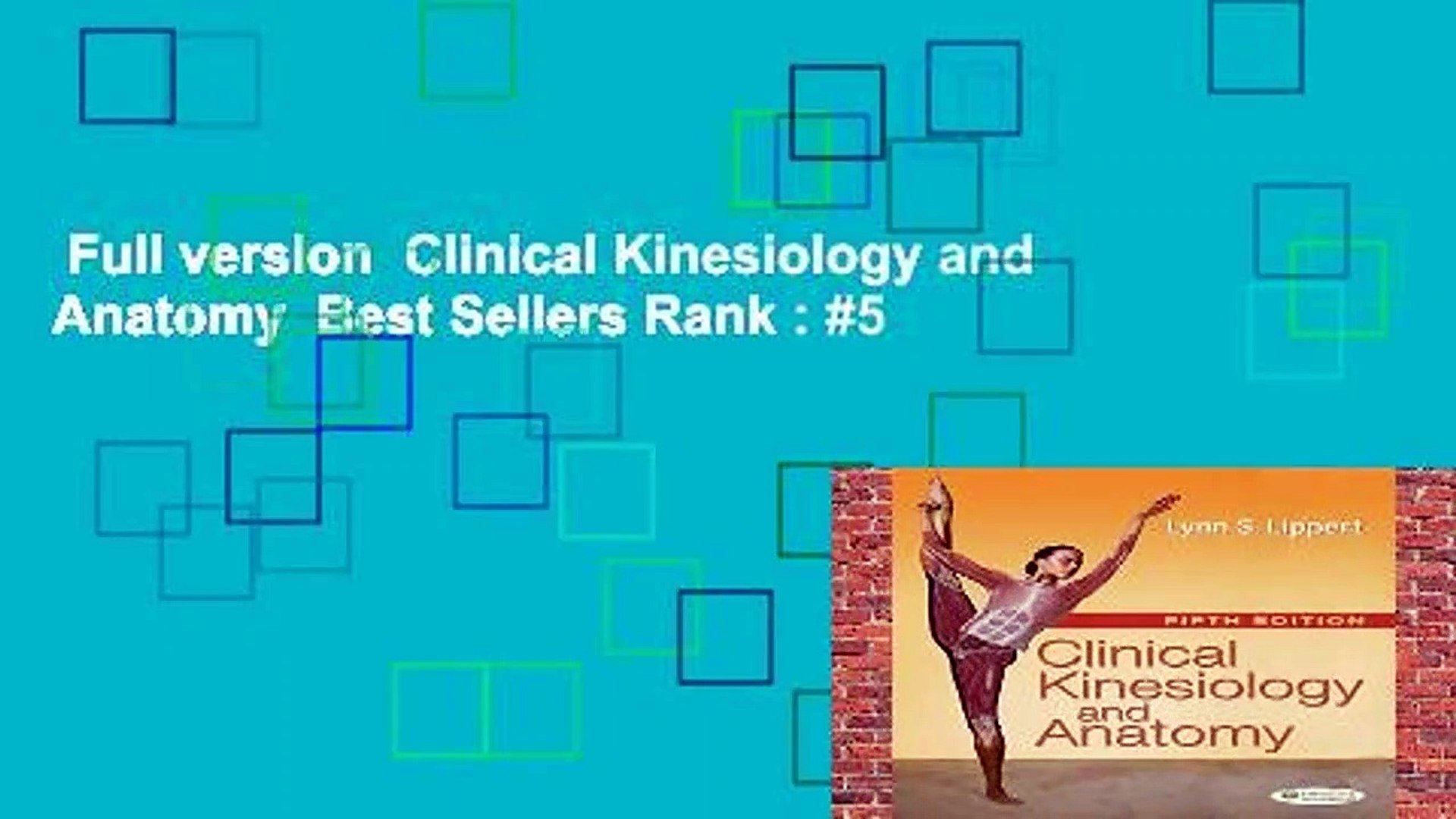 Full version Clinical Kinesiology and Anatomy Best Sellers Rank 1920x1080