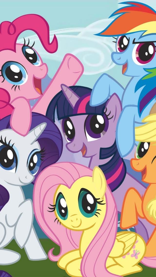 48+] My Little Pony Phone Wallpaper on