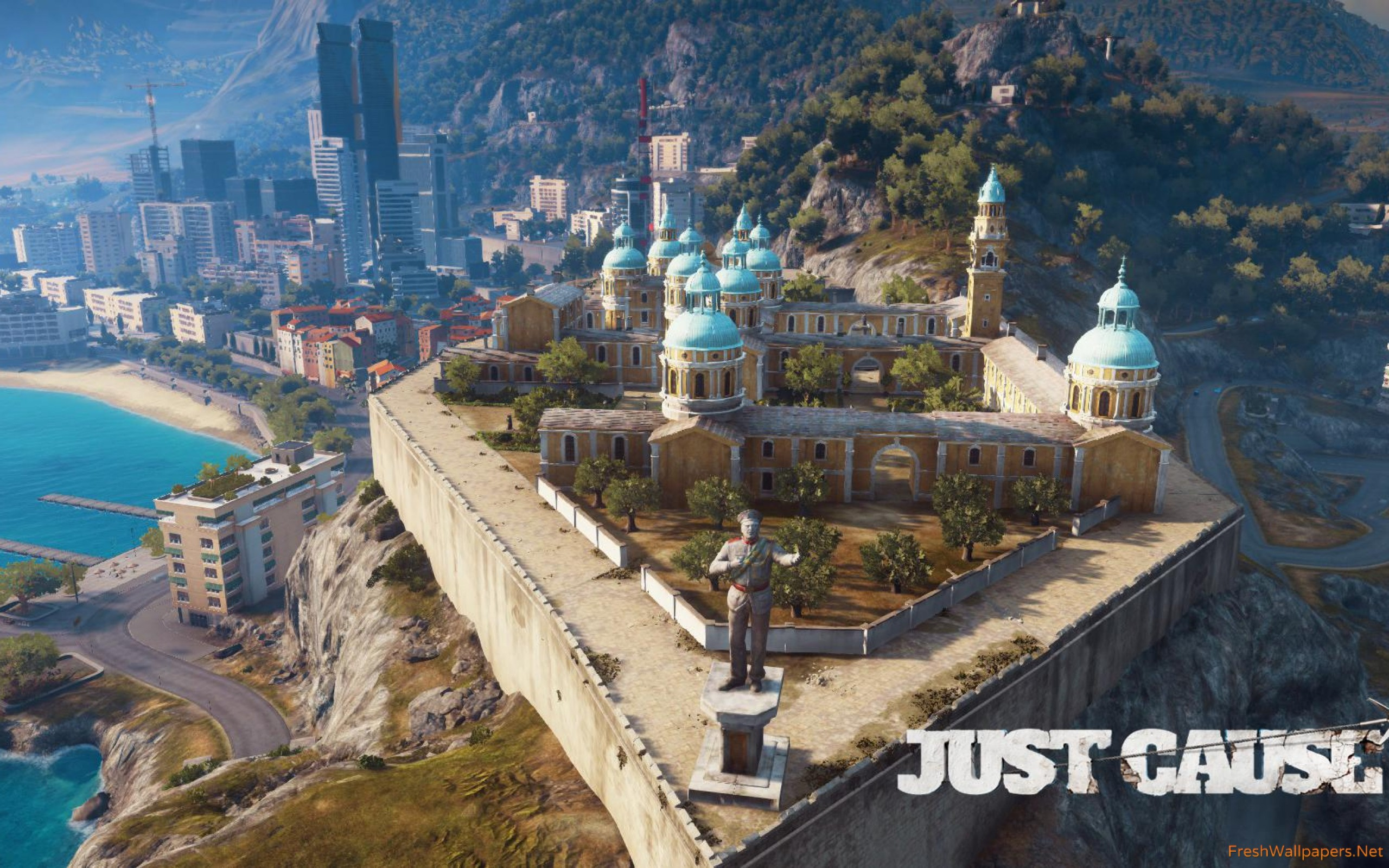 Medici city in Just Cause 3 wallpapers Freshwallpapers 2560x1600
