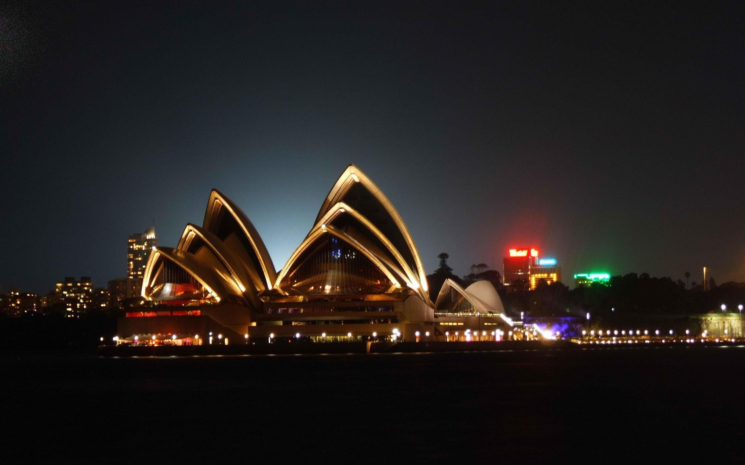 Sydney Opera House Australia Wallpaper   Travel HD Wallpapers 2560x1600
