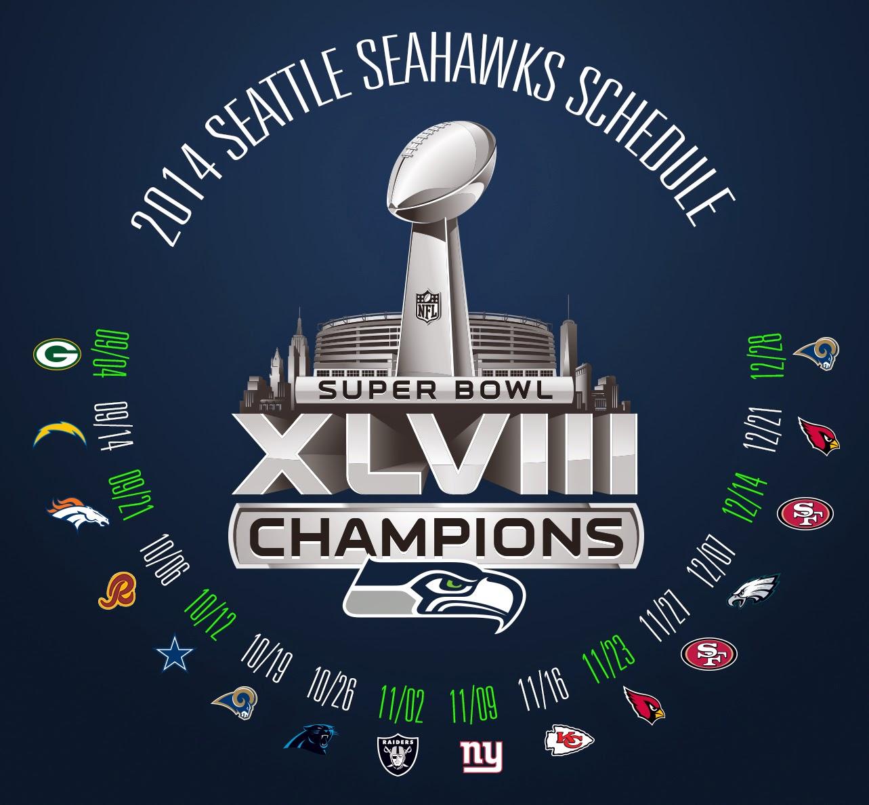 Seattle Seahawks Schedule: Seattle Seahawks Schedule Wallpaper