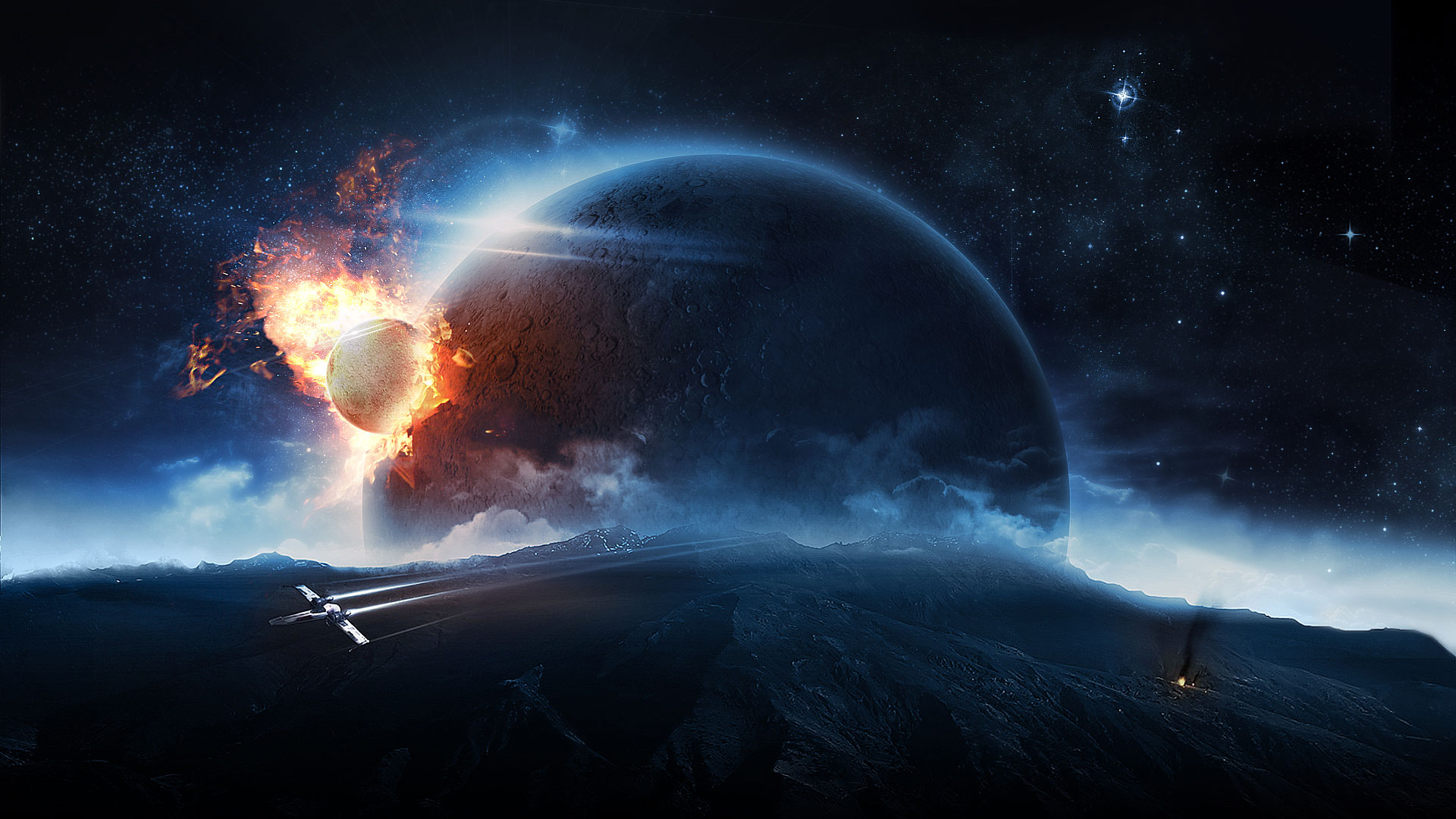 definition or widescreen resolution High Resolution Space Wallpapers 1920x1080