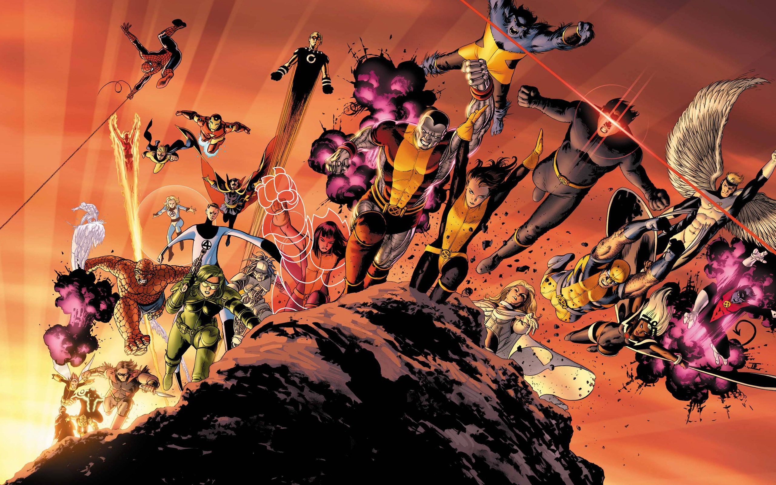 Giant Size Astonishing X Men desktop wallpaper 2560x1600