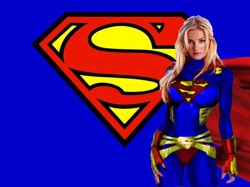 Superwoman Sign Wallpaper Supergirl wallpaper 800x600