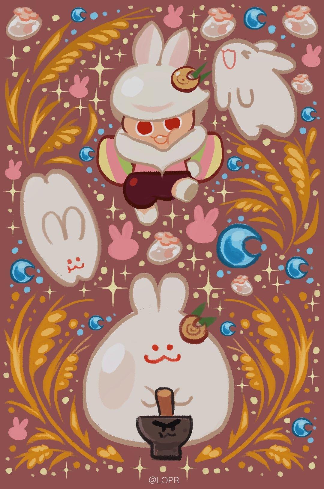 Moon Rabbit Cookie   Cookie Run   Image 3192703   Zerochan Anime 1080x1632