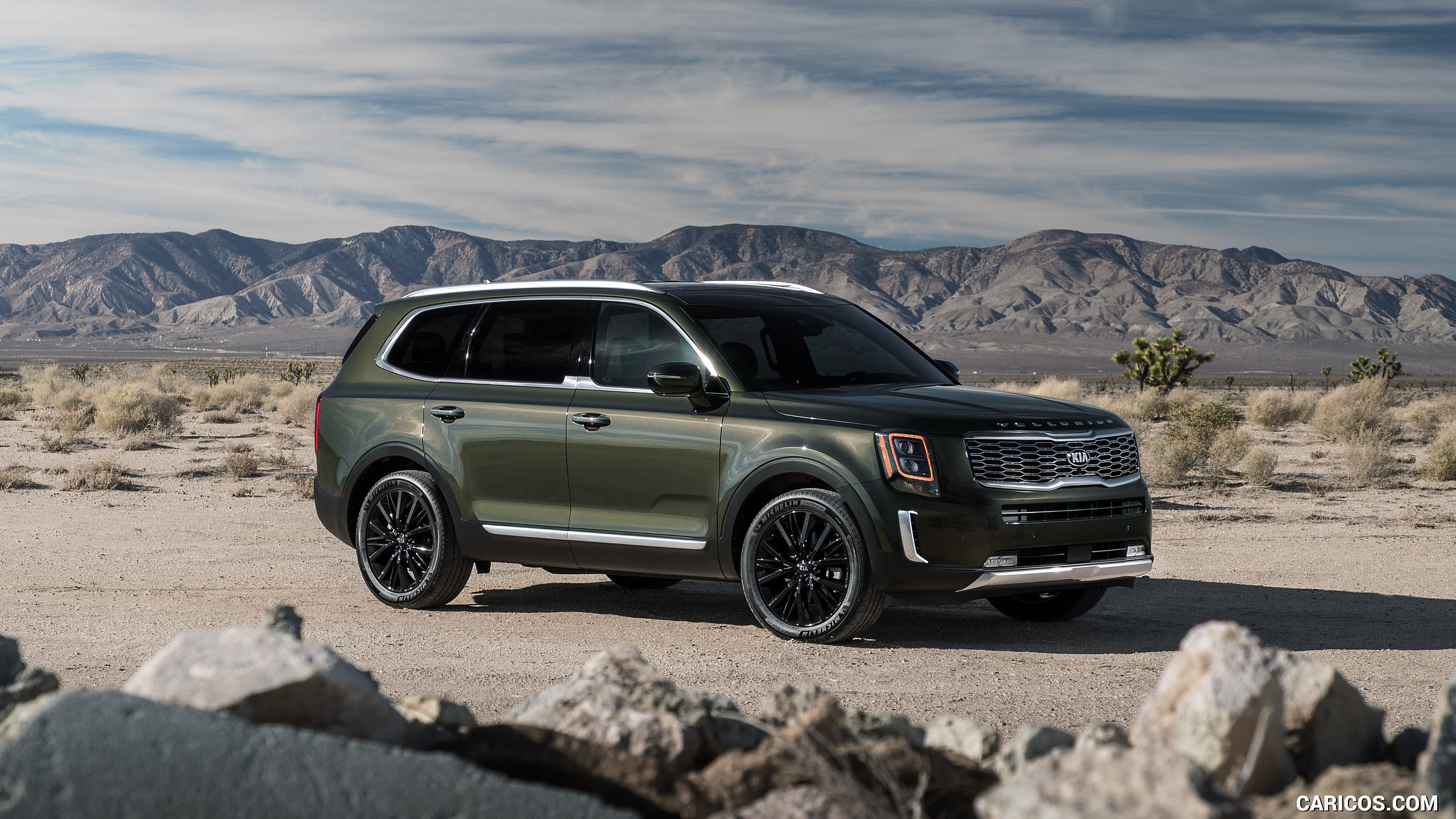 2020 Kia Telluride   Front Three Quarter HD Wallpaper 21 2560x1440