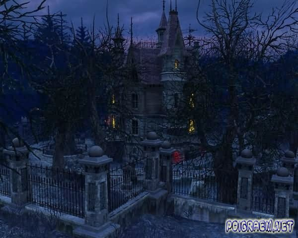 3Planesoft   Haunted House 3D Screensaver 2010   New 600x480
