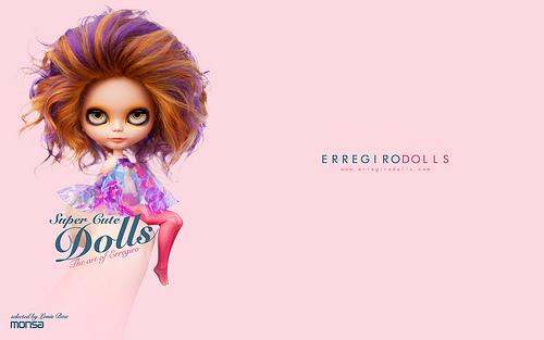 Super cute dolls WALLPAPER DESKTOP Flickr   Photo Sharing 500x313