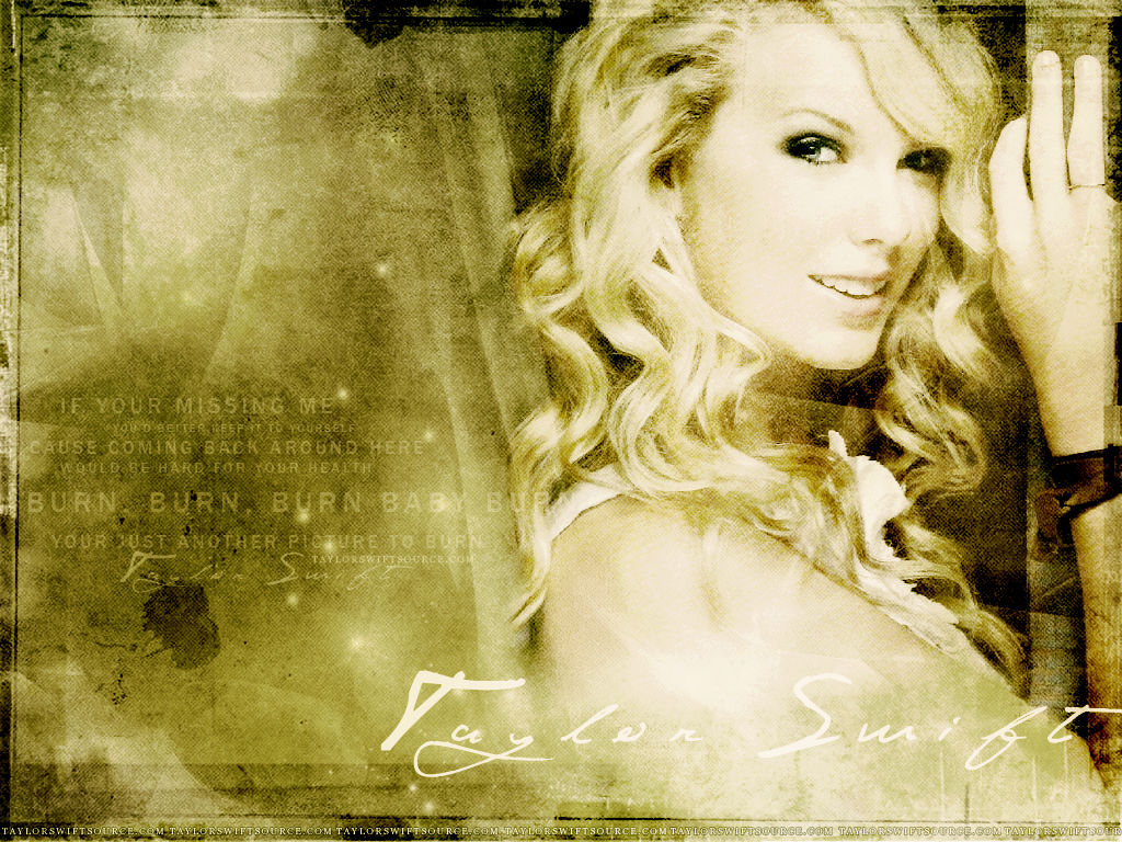This is the Taylor Swift background image You can use PowerPoint 1024x768