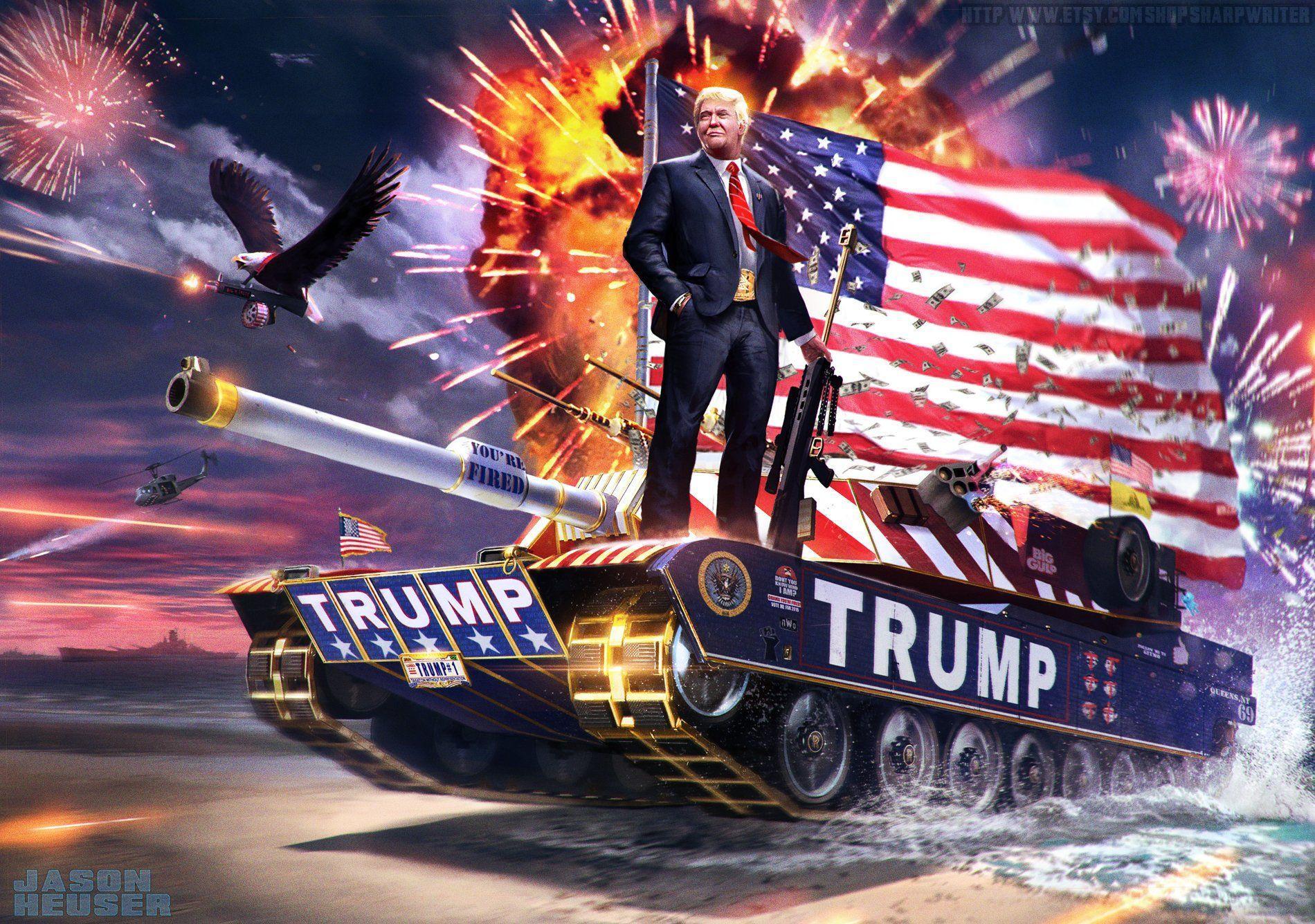 Trump 2020 Desktop Wallpapers 1900x1336