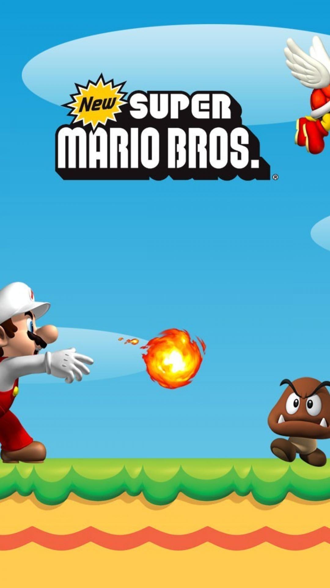 Nintendo mario super bros. goomba ds koopa troopa ...