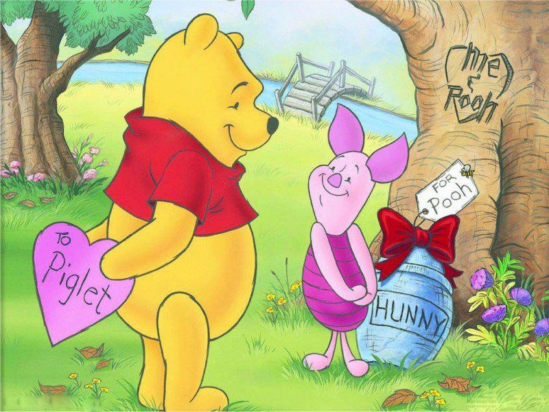 Valentines Wallpapers Winnie Pooh Valentine Wallpapers 800x600