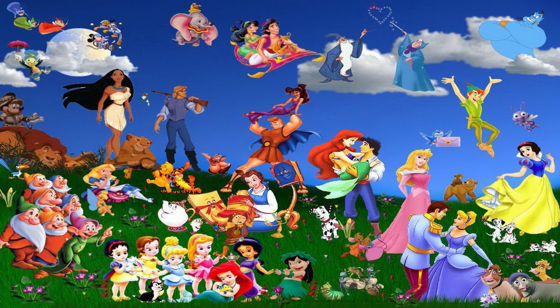Walt Disney Animation Cartoon Wallpaper 10680 Wallpaper 1919x1058
