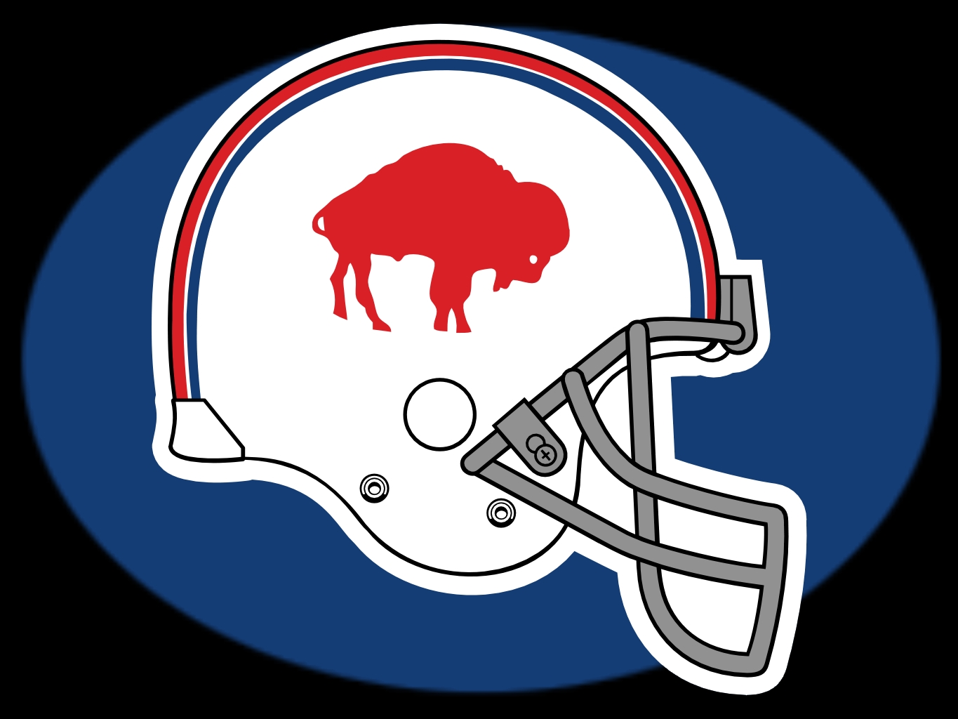 Buffalo Bills Very Old Helmet 1365x1024