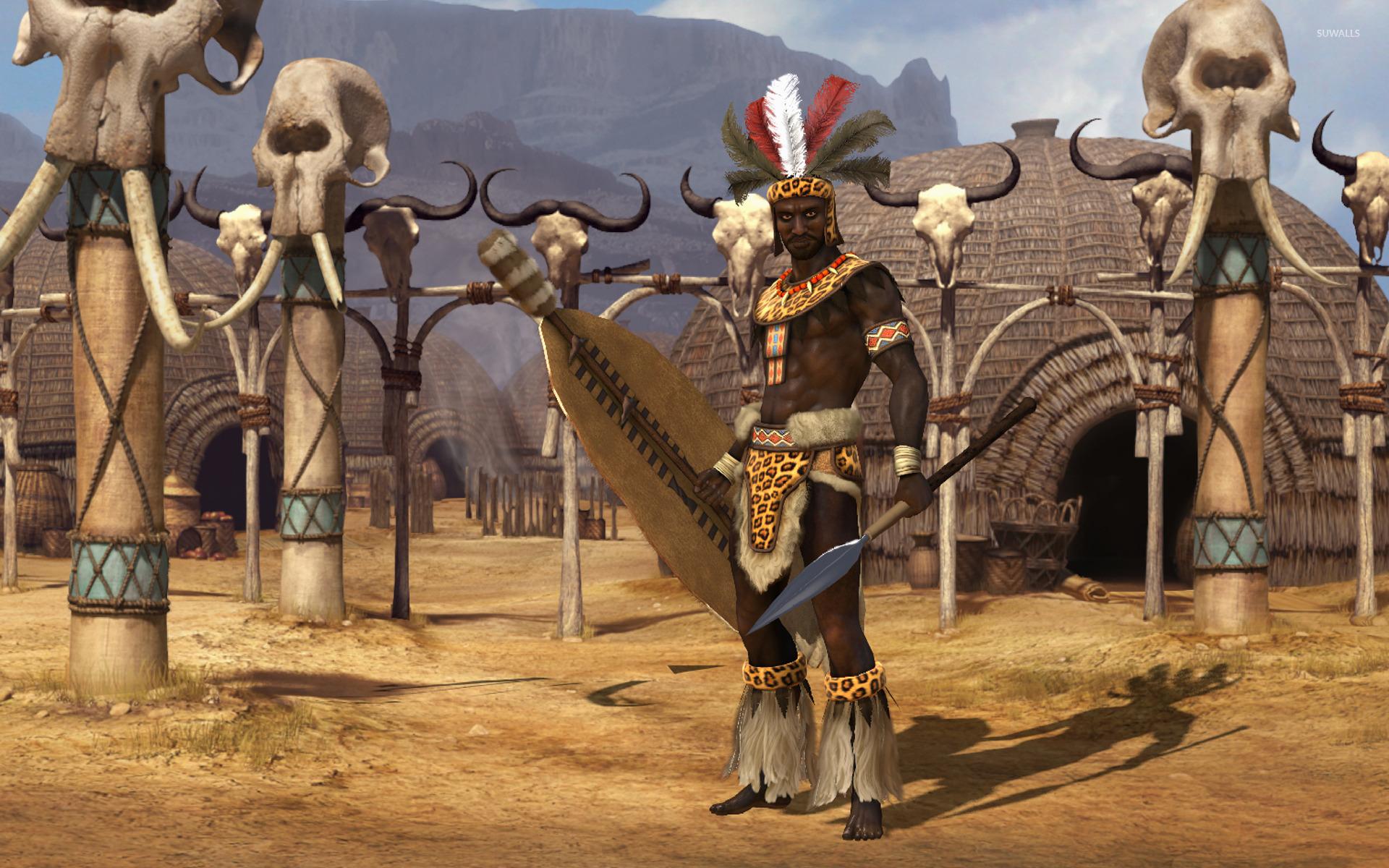 Shaka of the Zulus   Sid Meiers Civilization V wallpaper   Game 1920x1200