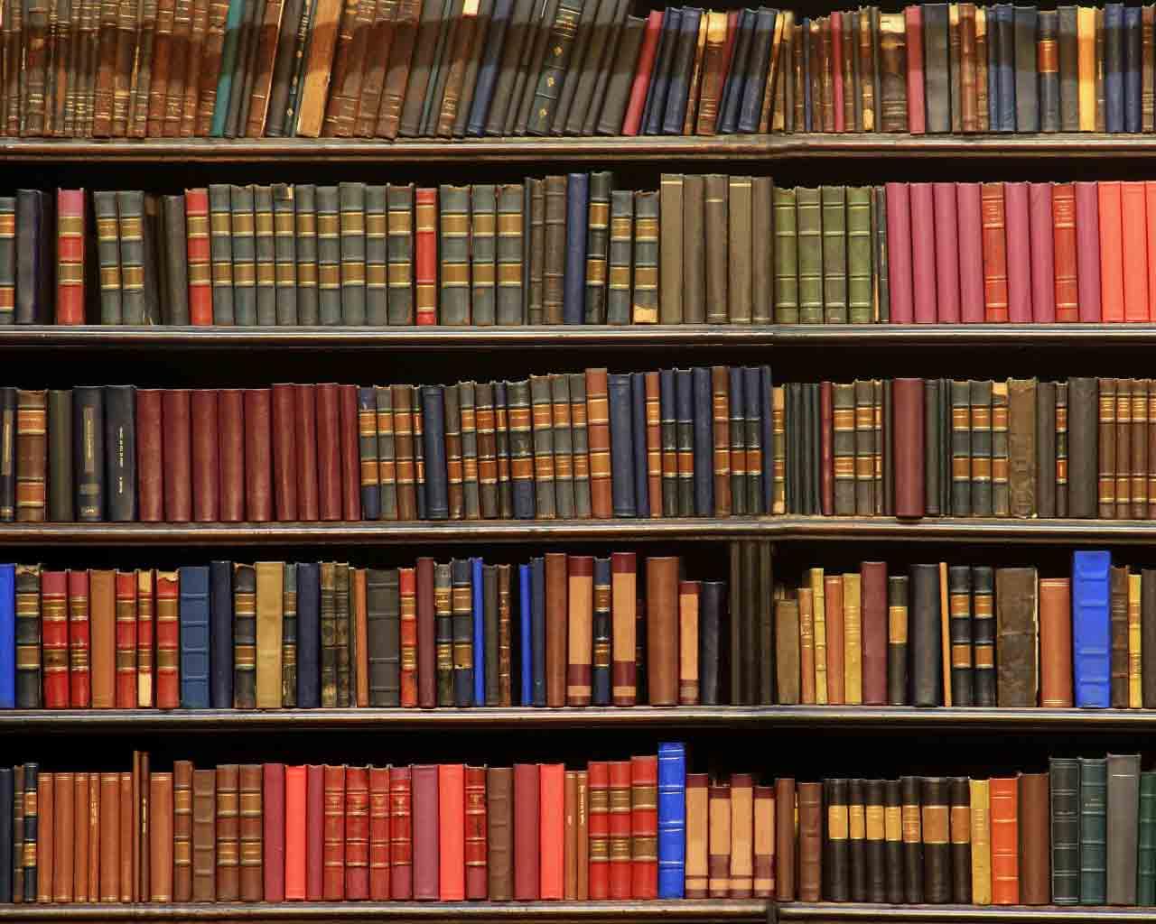 Library Book Wallpaper