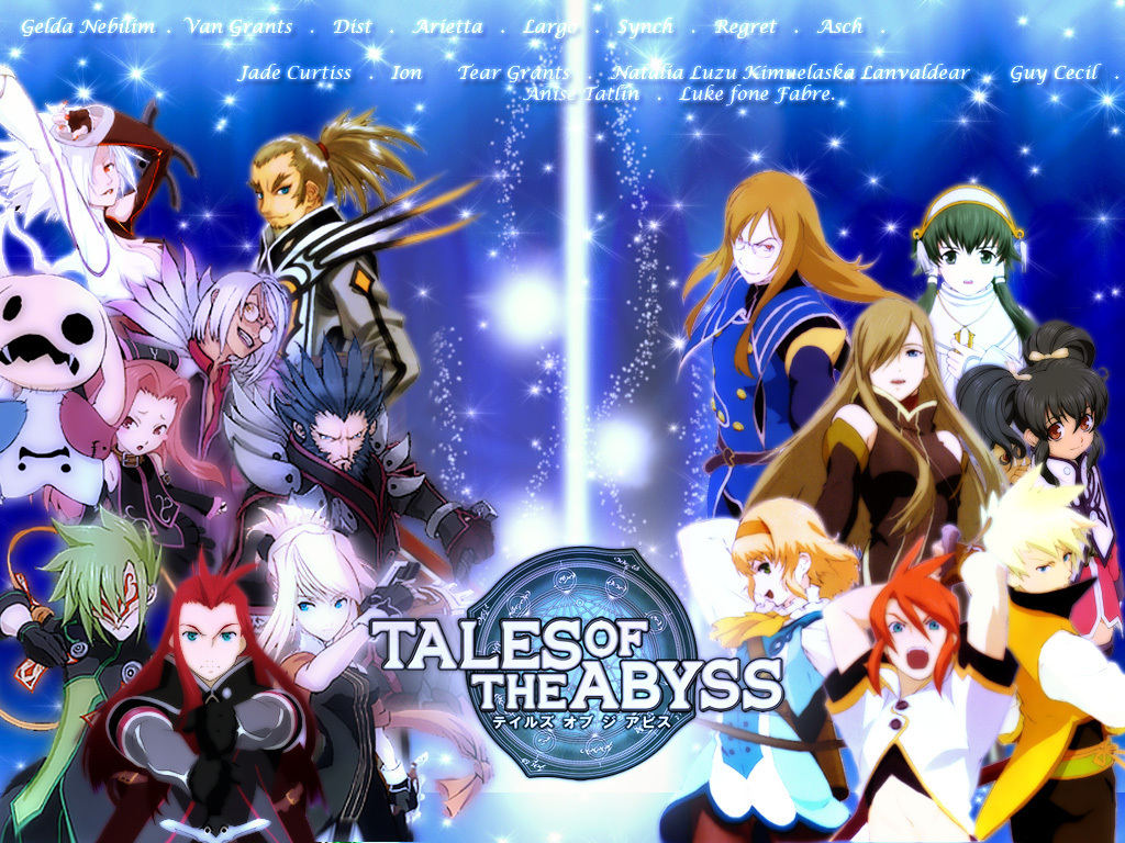 Tales images Tales of the Abyss wallpaper photos 13629655 1024x768