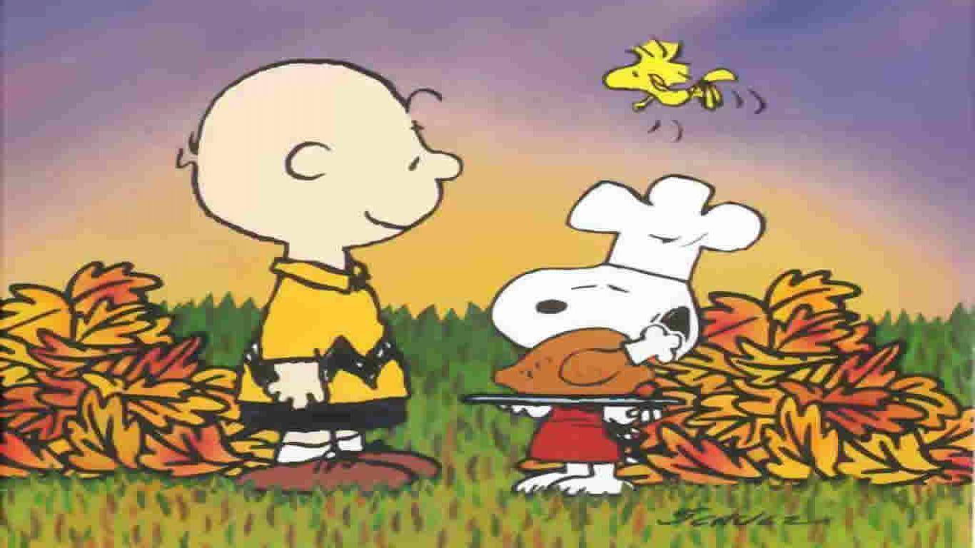 snoopy thanksgiving wallpaper wallpapersafari
