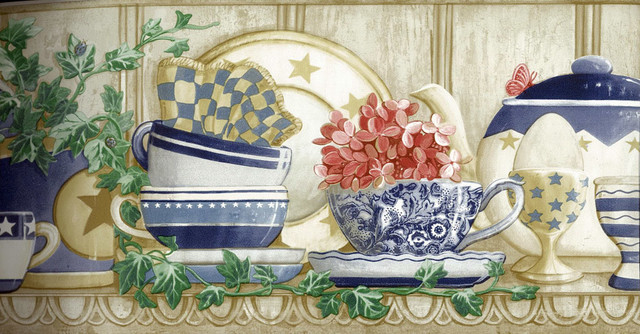Kitchen Wallpaper Border CP033121 Roll   Traditional   Wallpaper   by 640x334