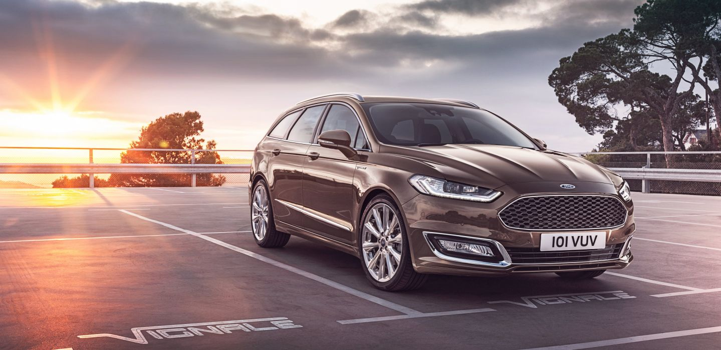 Ford Vignale Mondeo Turnier wagon cars 2015 wallpaper 4096x1993 1439x700