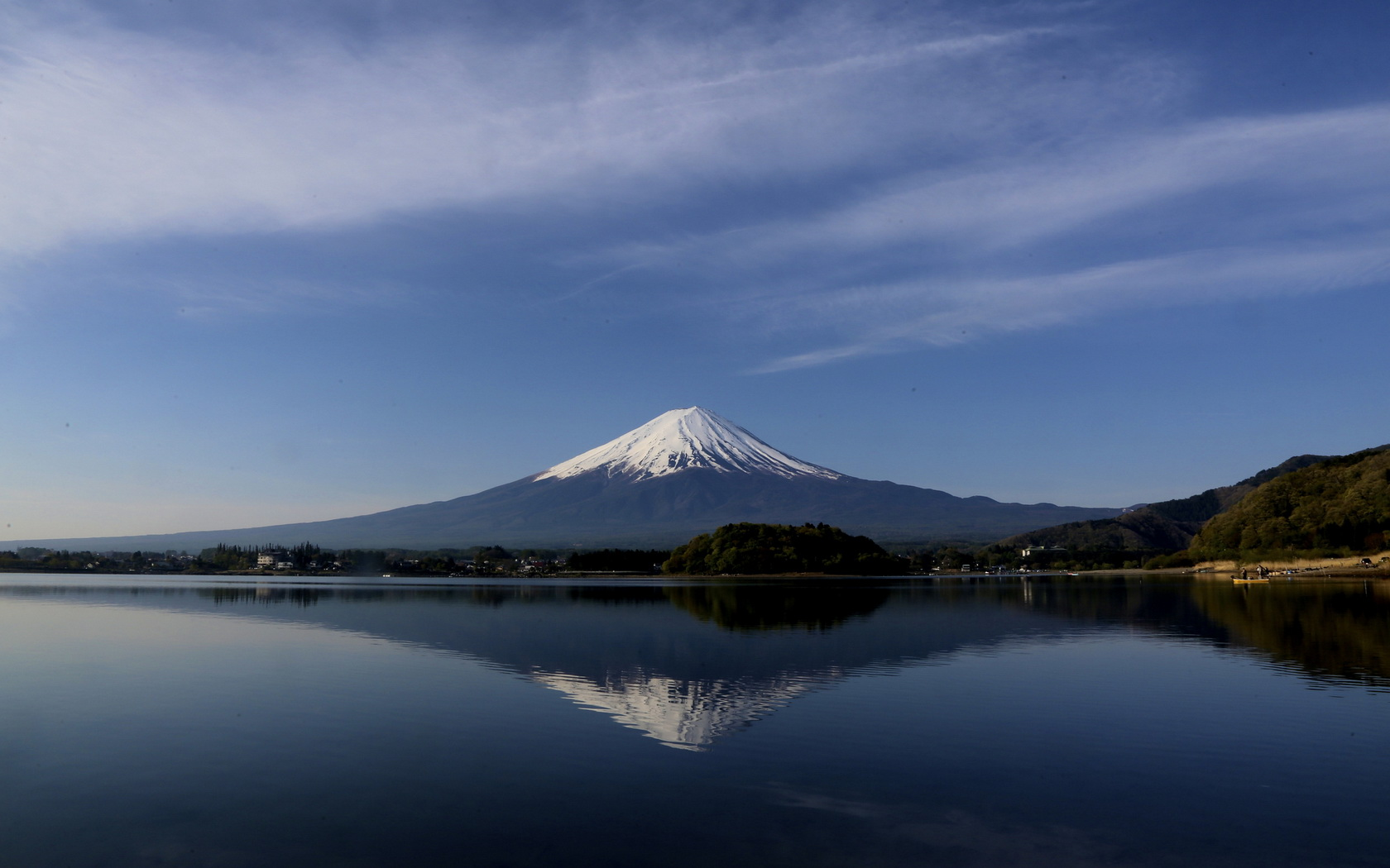 Mount Fuji wallpaper 1680x1050 122413 WallpaperUP 1680x1050