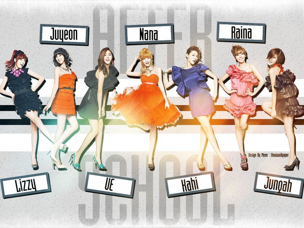 After School Wallpaper 2 kdrama and kpop 1024x768