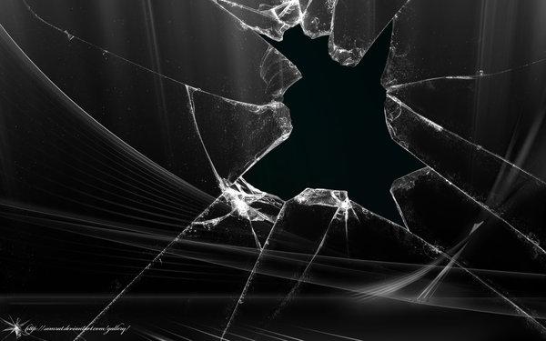 Broken Tv Screen Wallpaper Ps3 Thumb broken aero vista black 600x375