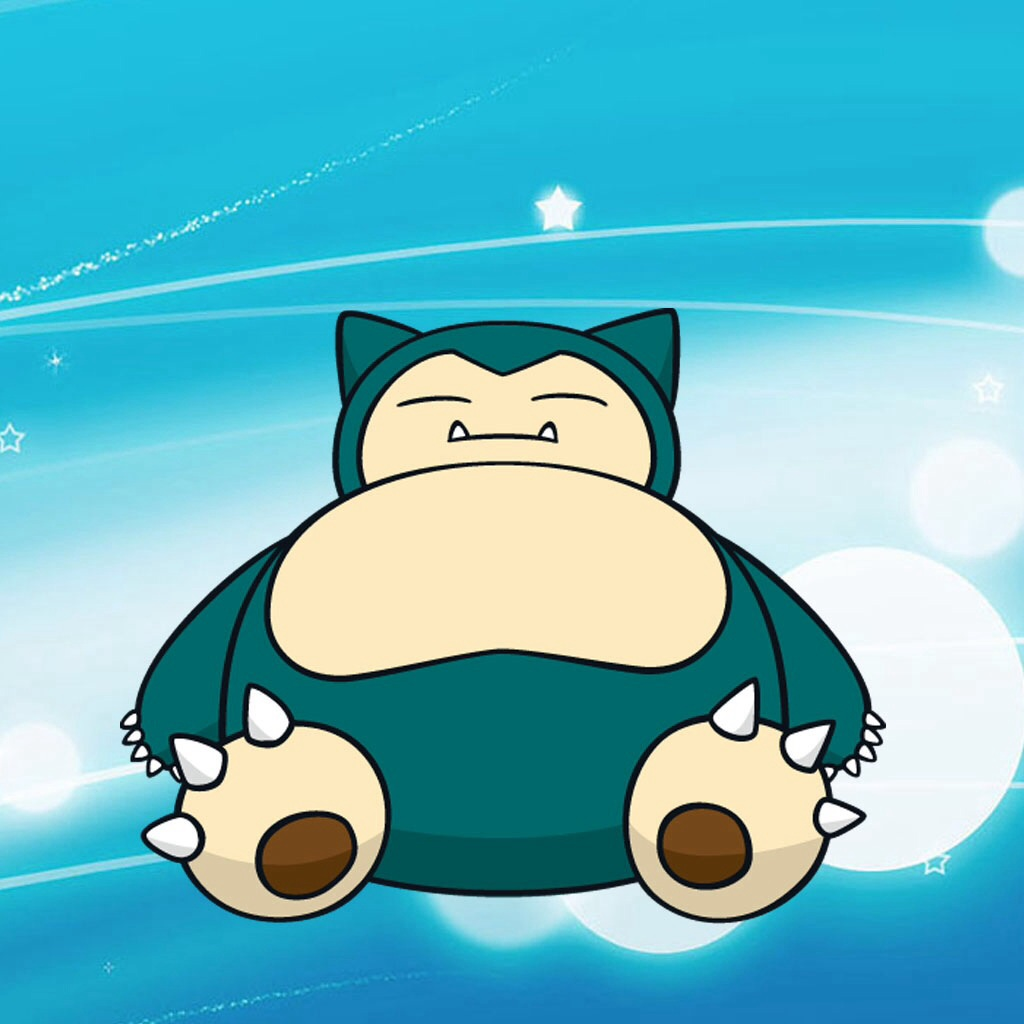 Pokmon images Snorlax The evolved form of Munchlax HD wallpaper 1024x1024
