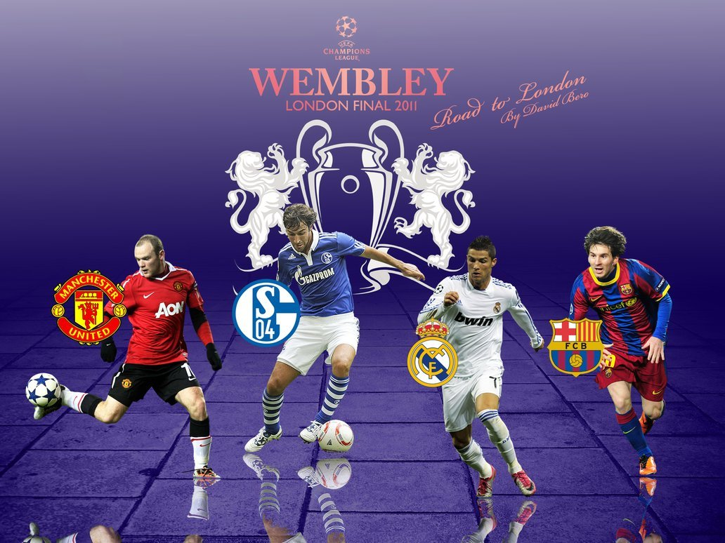 Champions League Wallpaper by DavidBero 1032x774