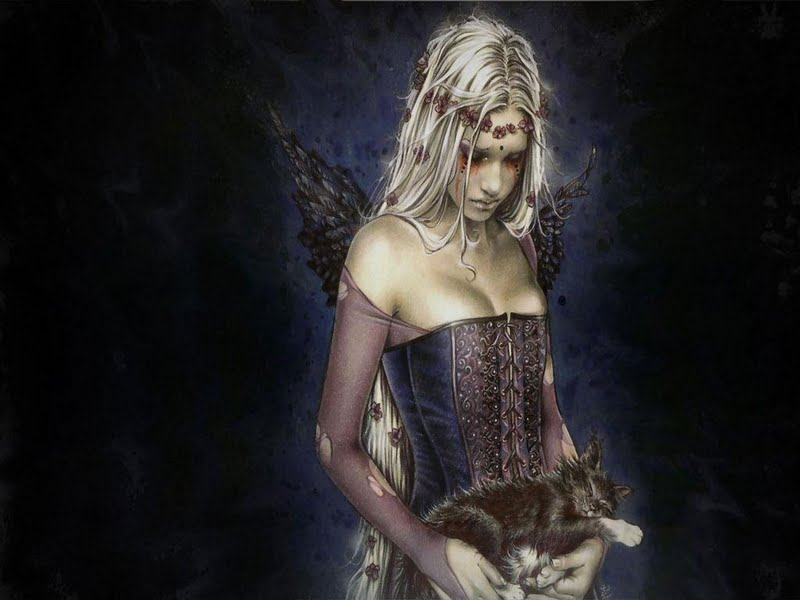 Gothic Fairies Wallpapers Gothic Beautiful Fairy of Arts