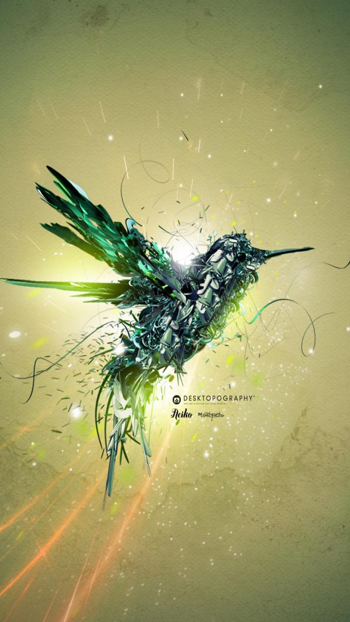Humming bird Galaxy S3 Wallpaper 720x1280 720x1280