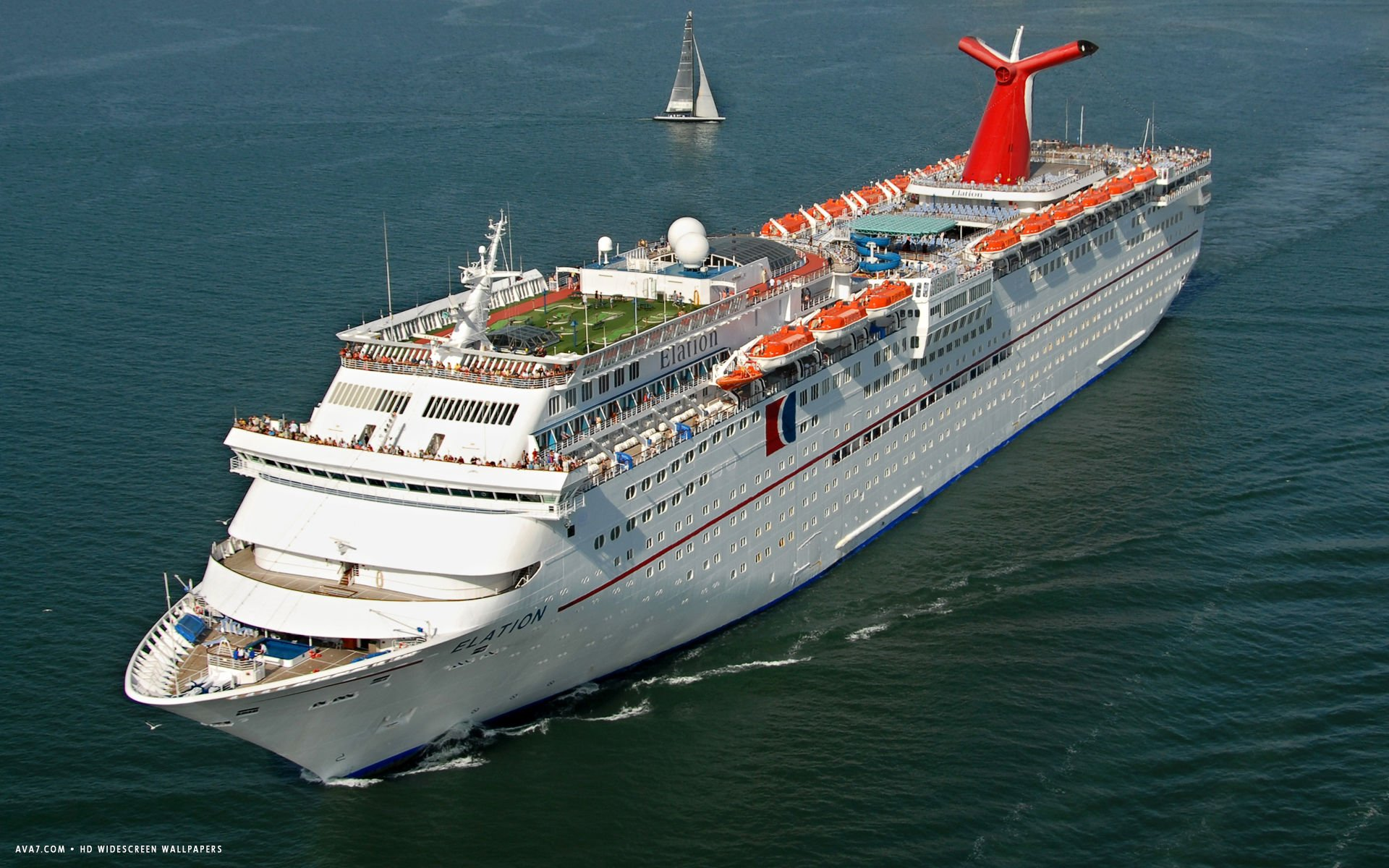 carnival elation cruise ship hd widescreen wallpaper cruise ships 1920x1200