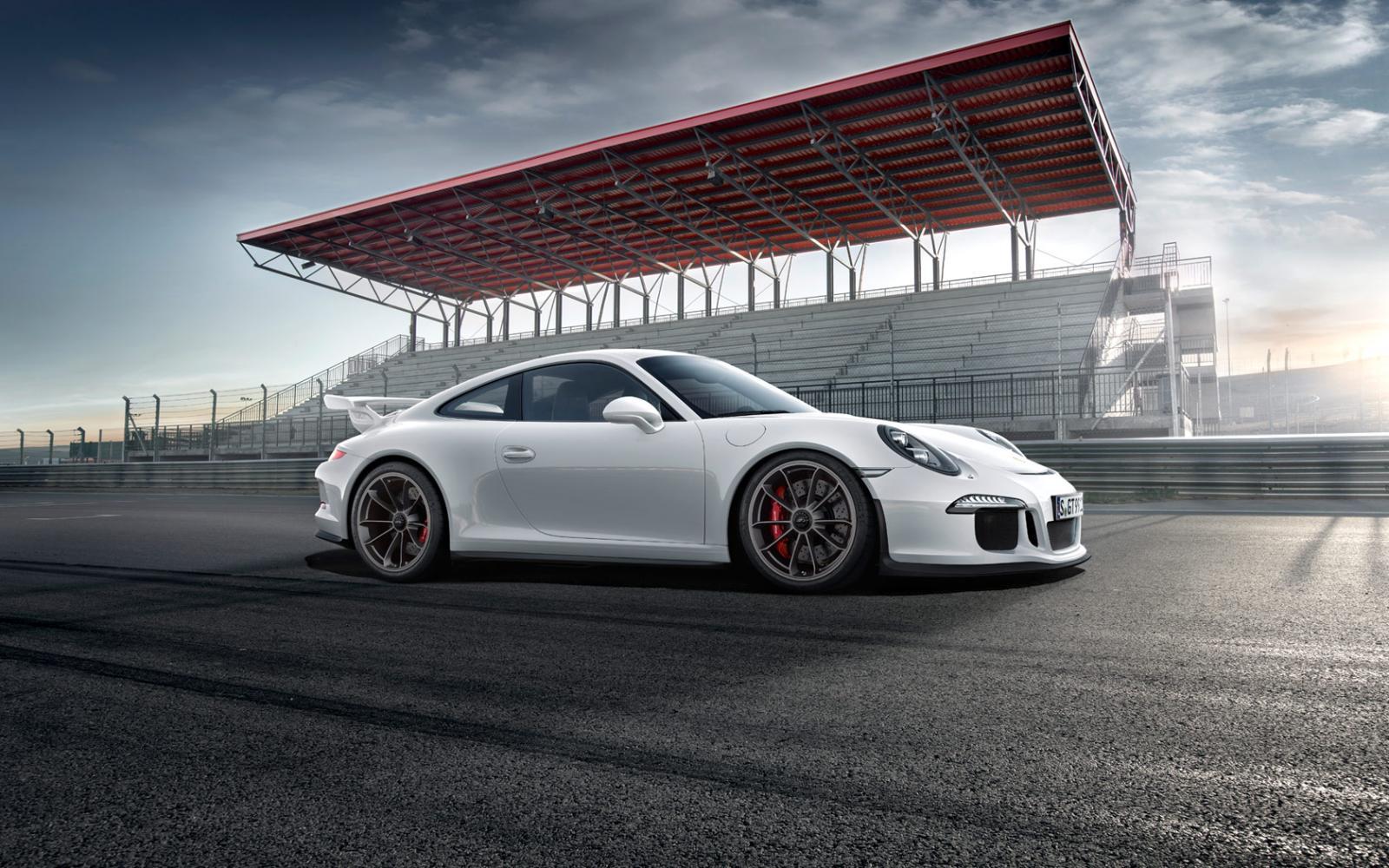 2014 Porsche 911 GT3   wallpaper 1600x1000