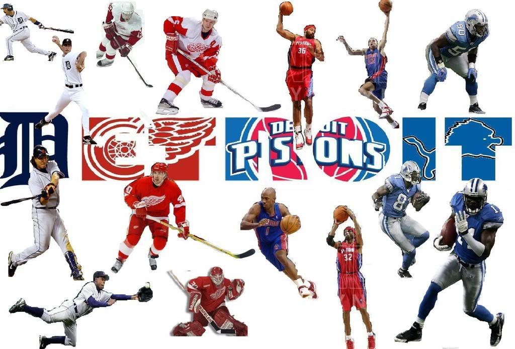 Detroit Sports Teams Wallpaper