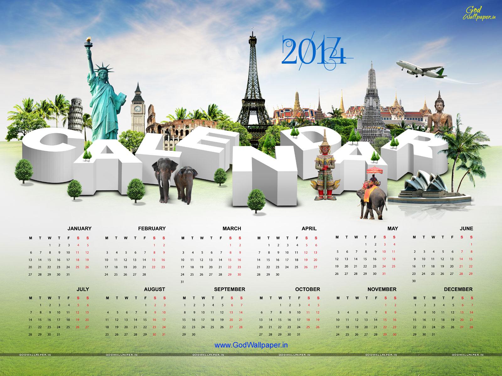 Calendar Desktop Wallpaper 2014 Download HD Wallpapers 1600x1200