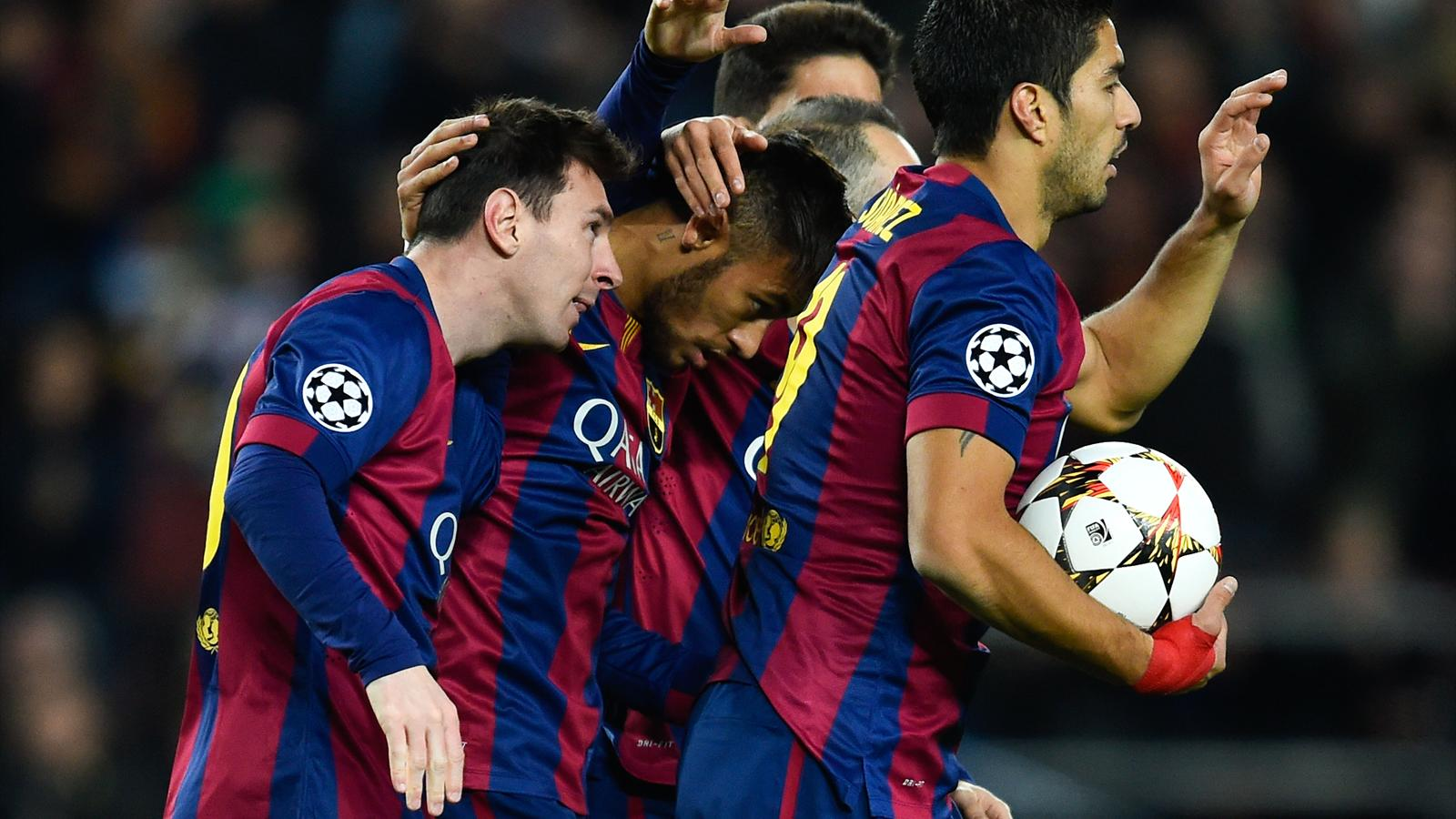 Messi And Neymar Suarez Wallpaper 4 1600x900