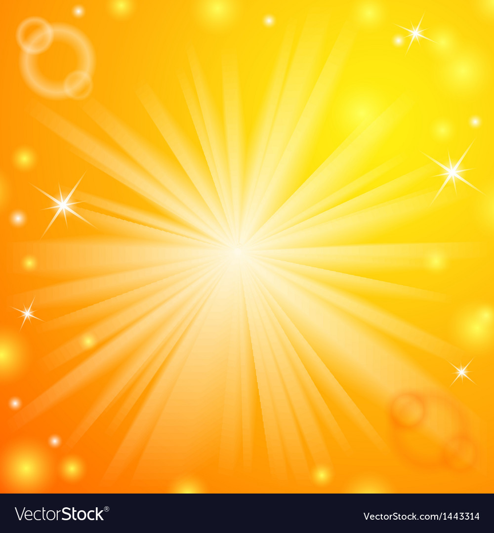 Abstract magic light orange background Royalty Vector 1000x1080