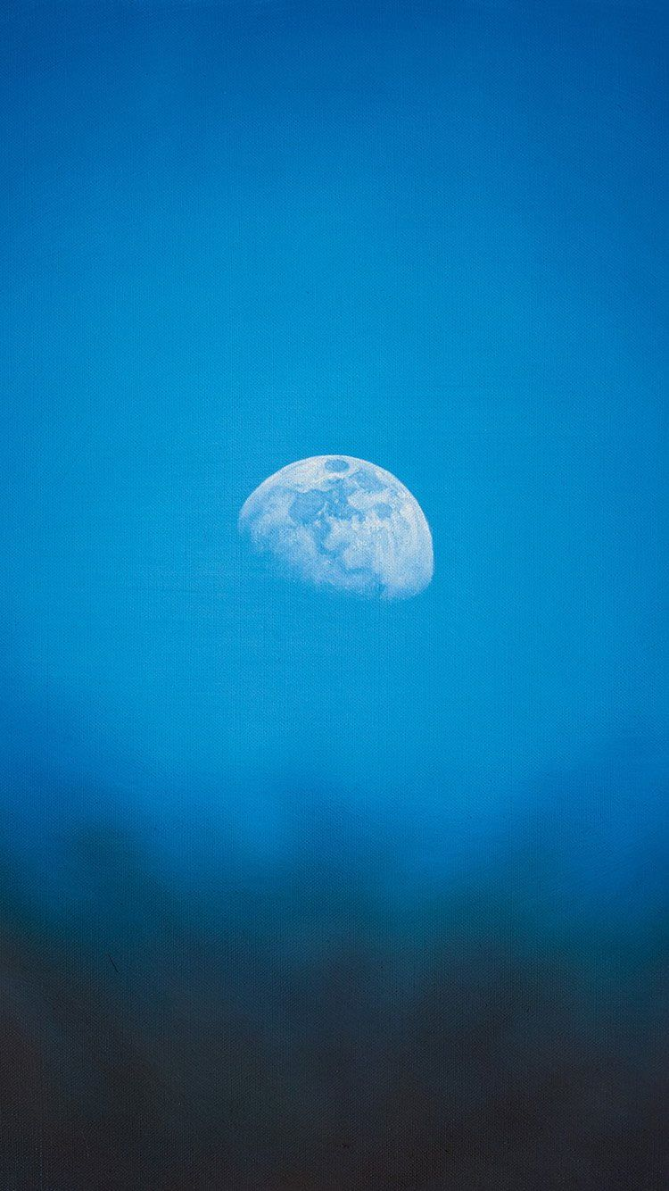 Once in a Blue Moon iPhone6 Wallpaper iPhone Wallpapers in 2019 750x1334